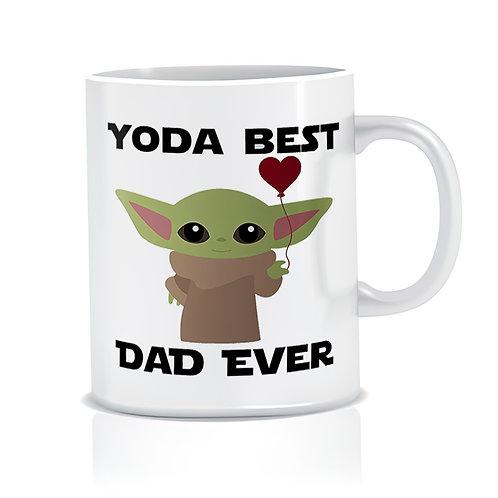 Taza Yoda Best Dad Ever 02