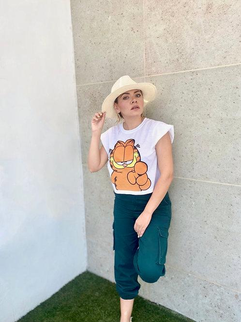 Garfield Crop T-shirt