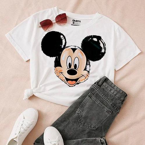 Mickey en globo T-shirt