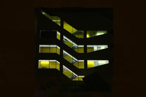 Escaliers de nuit