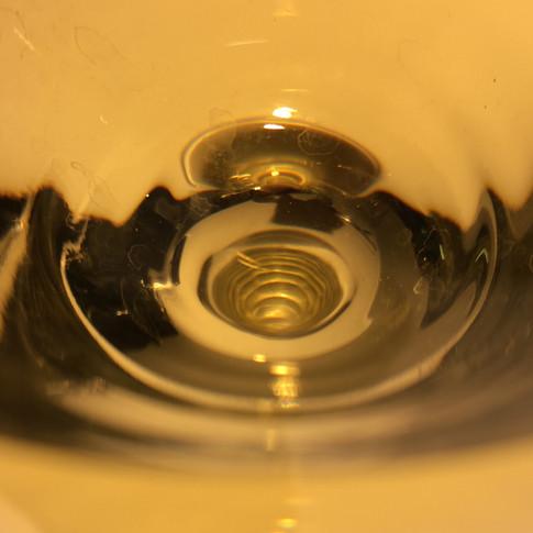 Au fond du verre... le jaune