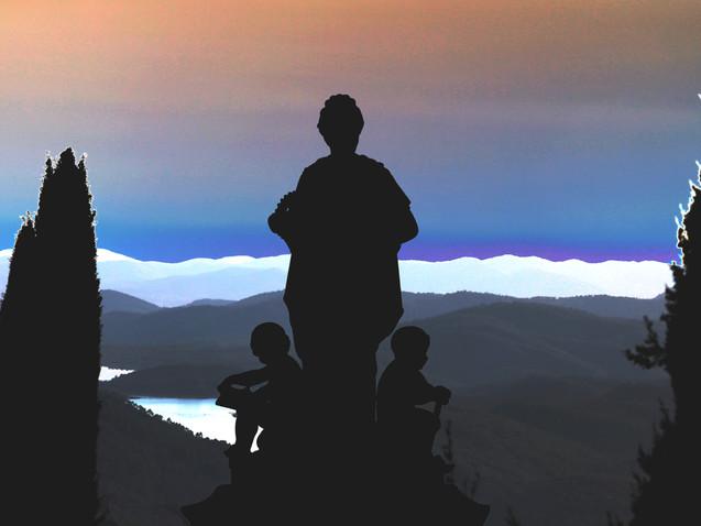 Face à l'horizon