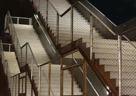Escaliers en escalier