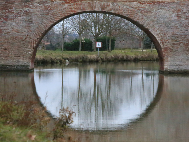 8 au Pont de Deyme Canal du Midi