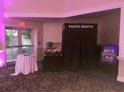 Black Cloth Booth