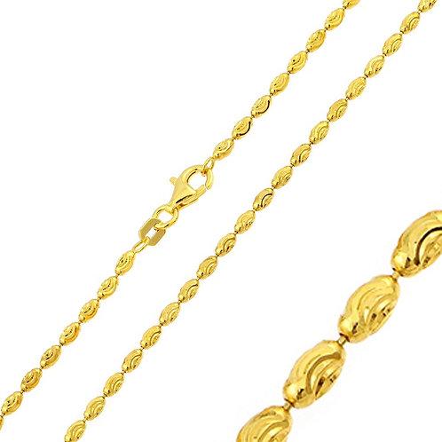 Single Rice Chain- Yellow