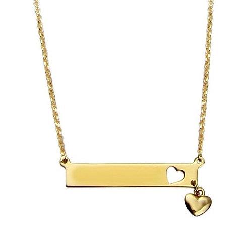 Amor Bar Necklace