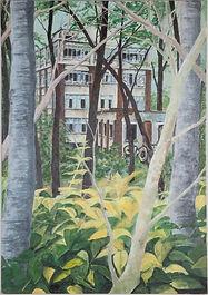The City Sleeps I - oil on canvas 70cm b