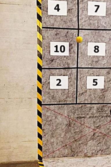 Package: Vlies-Wandfeld mit Buchstaben und Zahlen, alles selbsthaftend
