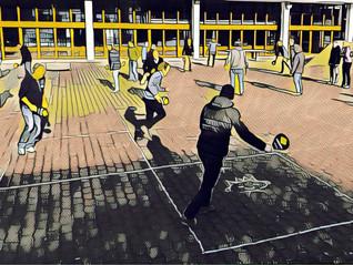 Viel Rückenwind für Street Racket durch den Schweizerischen Verband für Sport in Schulen SVSS!