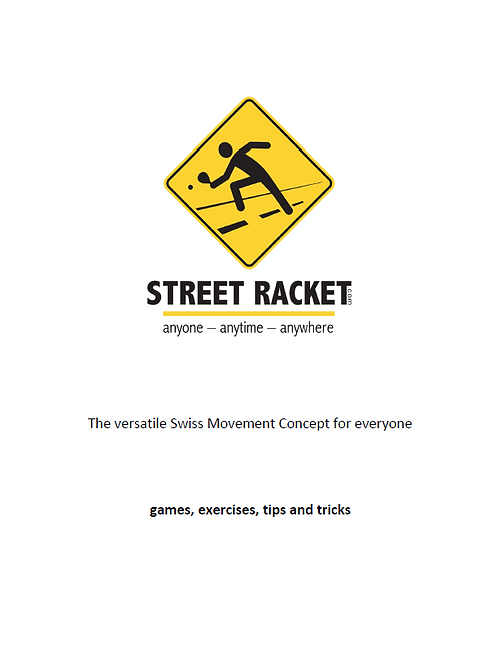 ebook Street Racket games, exercises, tips and tricks