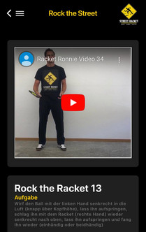 Die Street Racket App ist da!