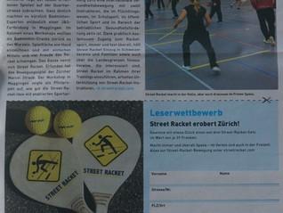 Street Racket erobert Zürich!