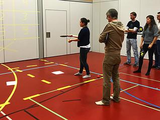 Lernen in Bewegung mit Street Racket - das innovative Konzept findet grossen Anklang!
