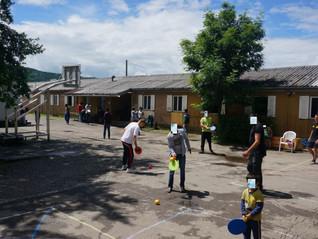Street Racket Einführung in Flüchtlingscamps von Belgrad