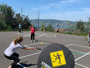 Street Racket Spielfelder sorgen für viel Bewegung!
