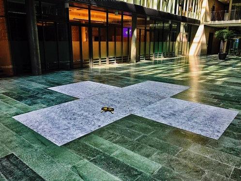 Vlies-Spielteppiche (Kreuzfeld) selbsthaftend