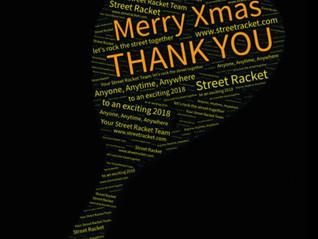 Jahresabschluss 2017: Danke!  … und sagen die Experten zu Street Racket ...