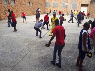 Street Racket in Südafrika