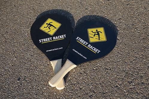 2 Street Racket Schläger black/ Street Racket rackets