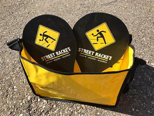 Street Racket Geschenkset Black (Set mit Tasche) / giftset black (set & Bag) /