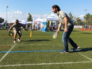Street Racket am grossen Zürcher Sportfest
