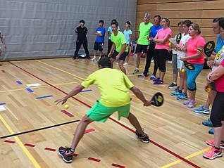 Street Racket am Internationalen Sportforum Mals