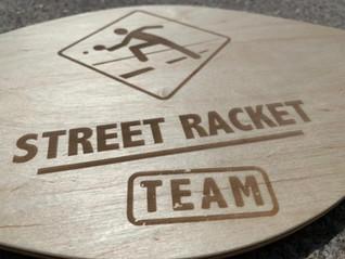 Das einzigartige TEAM Racket von Street Racket ist da!