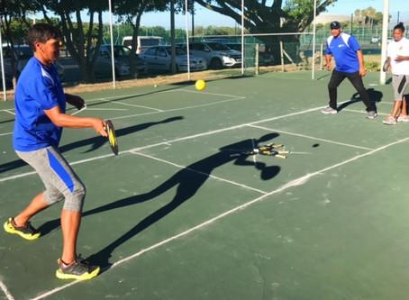 Street Racket at the South African Tennis Development Centre