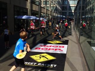Im Herzen von Zürich: Street Racket