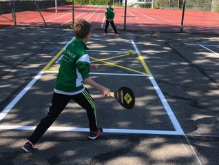Offizielle Street Racket Courts für die Gemeinden und Schulen!