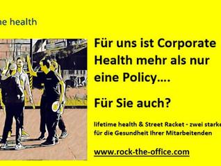 Betriebliche Gesundheitsförderung mit Street Racket