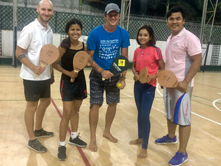 Congratulations to the first four official Street Racket instructors in Cambodia!