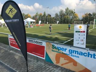 Street Racket Partnerschaft mit der Sportförderung Kanton Zürich!