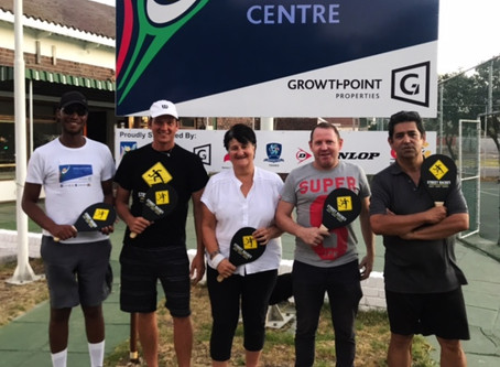 The first official Street Racket instructors of South Africa
