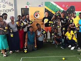 Street Racket workshops in Johannesburg