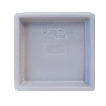 Prato Quadrado de Polietileno - Ref. PQL90