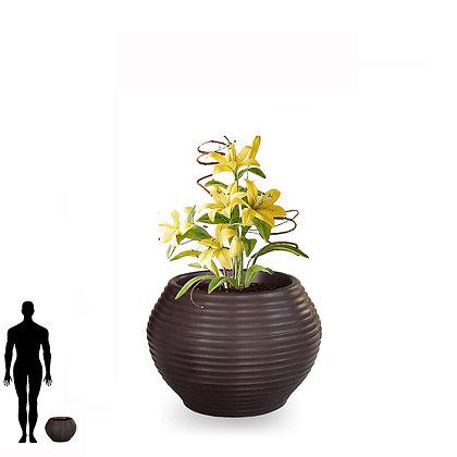 Vaso Bromélia de Polietileno 25x30 - Ref. VBF25