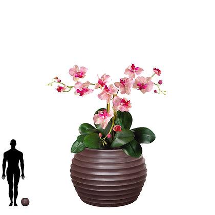 Vaso Bromélia de Polietileno 15x20 - Ref. VBF15