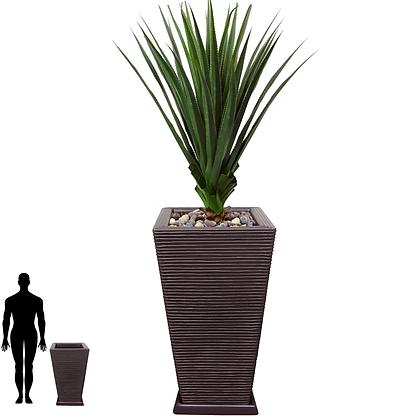 Vaso de Polietileno 75x40 - Ref. VQF75
