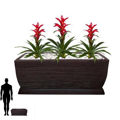 Jardineira/Floreira de Polietileno 80x30 - Ref. JMF80