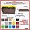 Thumbnail: Jardineira/Floreira de Polietileno 100x40 - Ref. JGF100