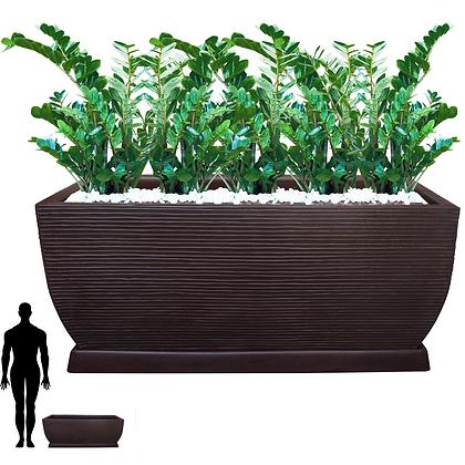 Jardineira/Floreira de Polietileno 100x40 - Ref. JGF100
