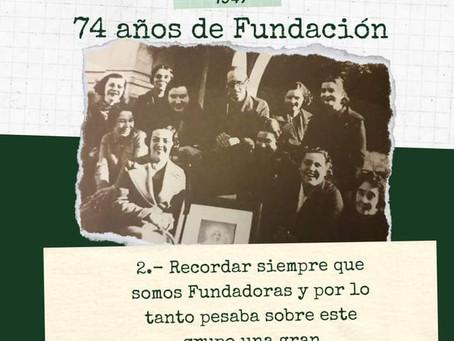 74 años de fundación - 27 de junio