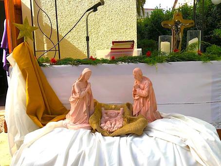 Última misa Señoras y bendición de niños de pesebre