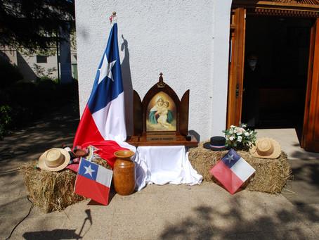 Misa a la chilena y esquinazo 2021