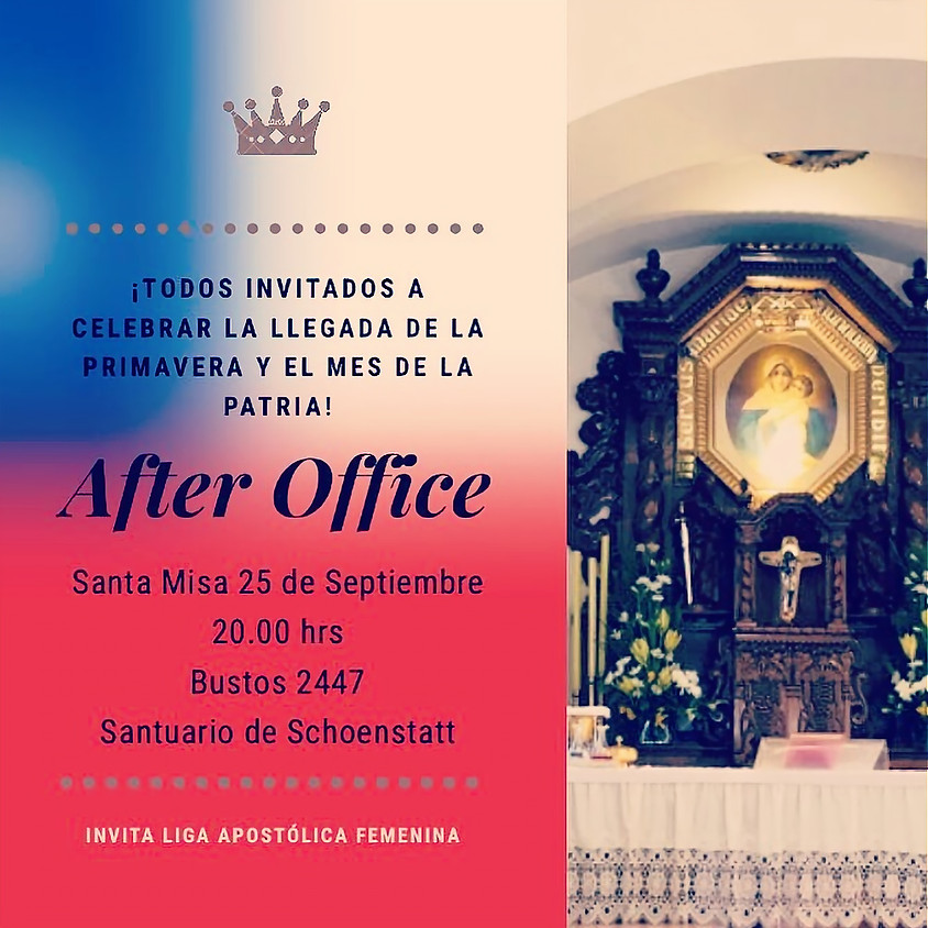 Misa After Office - Septiembre