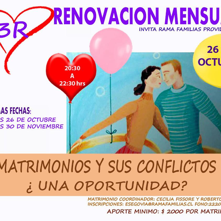 3R - Revisión mensual para matrimonios