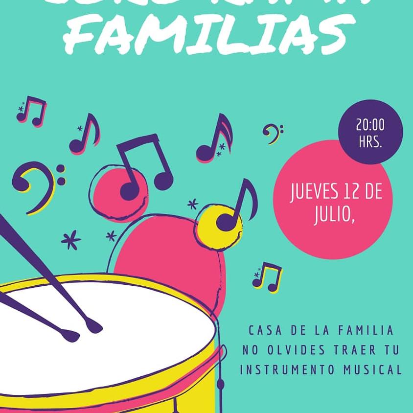 Invitación a formar el coro de la rama de familias