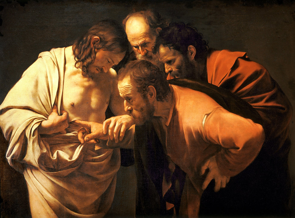 The_Incredulity_of_Saint_Thomas-Caravagg